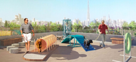 Get The best selling project in MEYDAN City, Studio apartment