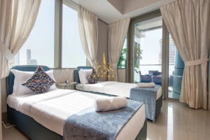 Luxury Furnished   3 bedroom   Full sea view