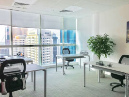 Fitted Office Space for Rent in HDS Business Center