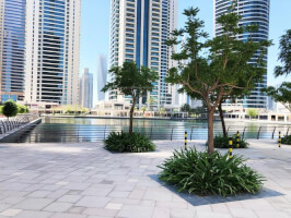 Huge retail|Shell and core|Lake level|Swiss tower JLT