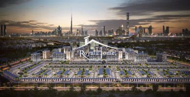 3BR includes Maidroom Townhouse in Meydan OFF PLAN