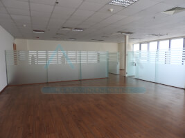 Fully fitted office with partitions business bay.