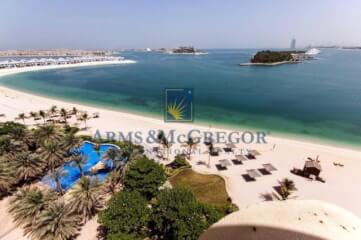 4 Br.Duplex Penthouse|On The Beach|Spectacular Views