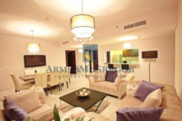 Three Bedroom Apartment with Panoramic Marina View