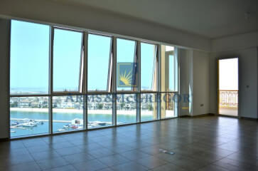 3 Bed +Maid Room Extended Balcony Sea view