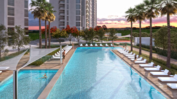 1Bedroom apts with world-class facilites