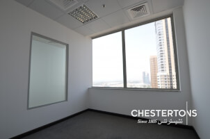 Business Central Tower|Clean Modern Fit Out|DED License|Media City