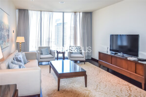 Burj Khalifa| Furnished| Study| 2 Parking Spaces