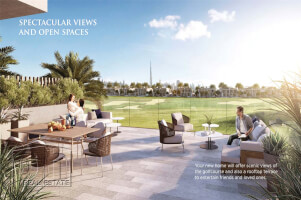 Direct golf course fairway views and best possible location