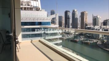 6 cheques| panoramic marina view| huge terrace