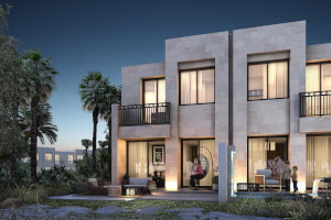 Spacious 3BR villas with golf views