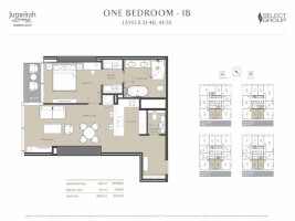 Premium 1 Bedroom with Ample Storage