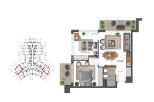 Apartment for Sale in Dubai South, Buy Apartment in Dubai South