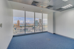 Luxury Office Fitted Partitioned On High Floor