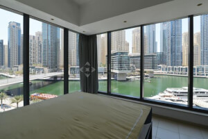 Exclusive | Rare 1BR with Full Marina View