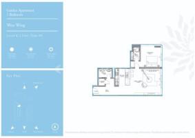 Corner Garden 1 bedroom apartment | Serenia