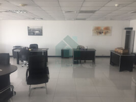 Fitted office for sale in Mazaya Business Avenue.
