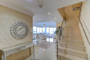 Furnished 3 BR Penthouse | Top Floor | Marina View