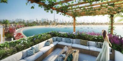 Luxury Townhouses  -  Park Facing at La Mer