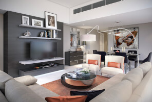 Brand new luxury 2BR apts with golf view