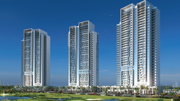 1BR luxury apartments with golf view