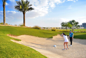 Studios with golf views in DAMAC Hills