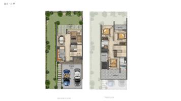 Spacious 3-bedroom villas in Dubailand