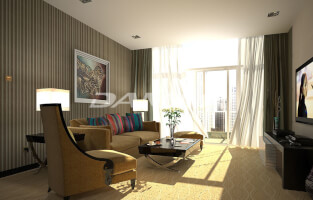 Furnished 3BR apts in world class location