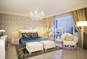 2BR apts overlooking the Palm Jumeirah