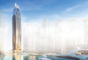 1 BR ready apts with Palm Jumeirah views