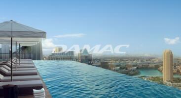 New lavish 3BR apts with Downtown views