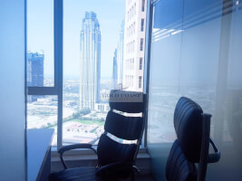 Rented Office space for sale in Churchill Tower