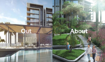 WATERFRONT LIVING AT THE BLUEWATERS DXB.