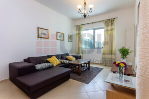 One month Free Fully Furnished 1 Bedroom with Chiller & Marina View