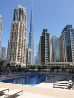 3 bed + Maid with Full Burj & fountain view at 4Star Vida Residence