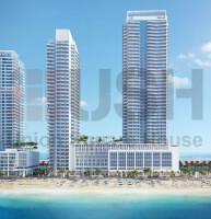 2BR Full Sea & Palm View in Marina Vista