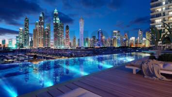 3 Br Apt in Sunrise Bay at Dubai Harbour