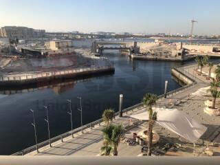Dubai Wharf |Full Canal View|3 BR+Maid |